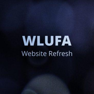 WLUFA WebSite Refresh